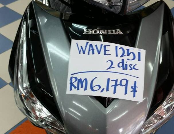 Honda Wave 125i (2-Disc) full